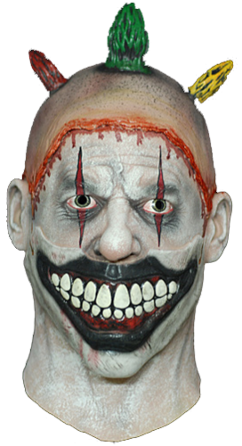 Twisty Clown Mask -  Budget - Halloween