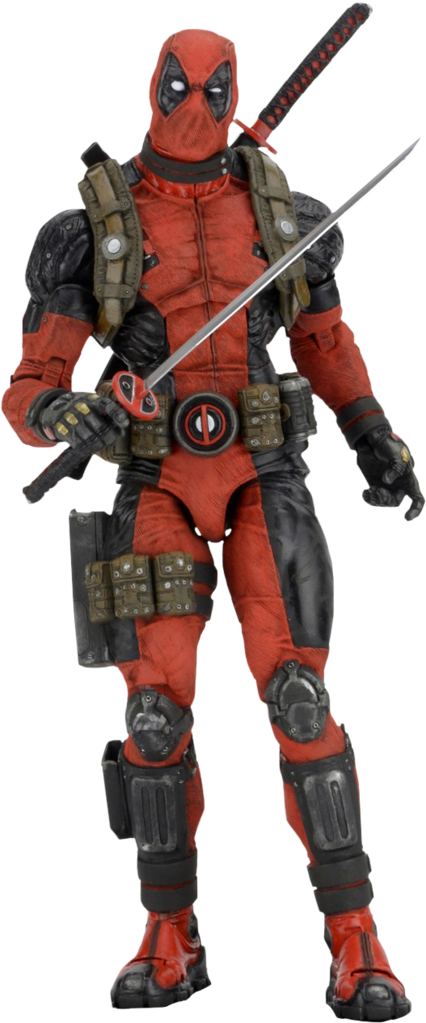 Figura de acción de escala 1/4 de Deadpool