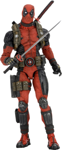 Deadpool grande action figure