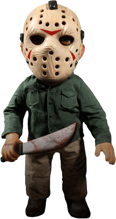 Jason Voorhees 38 cm Figurine avec son Friday le 13th