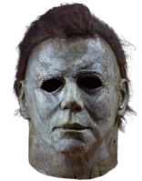 Leer mensaje completo: Micchael Myers masks and the films he was in
