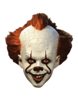Lire tout le message: Pennywise the 'IT' deluxe clown mask has arrived!