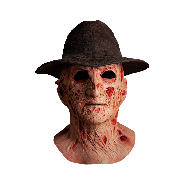 Nightmare on elm street 4 deluxe Freddy Krueger Maschera con cappello