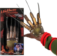 Freddy Krueger glove metal collectors glove