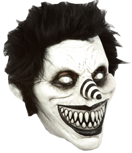 Rire Jack Creepypasta masque de clown - masque d'horreur