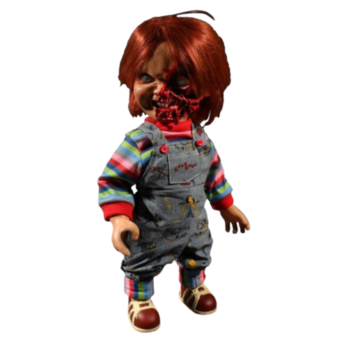 "Chucky doll 15"" Childs play 3 - Pizza face Doll with sound"