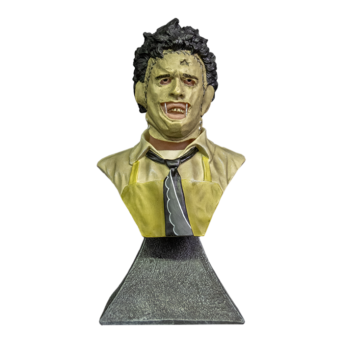 Leatherface - Mini busto escala 1/6 de Texas Chainsaw Massacre