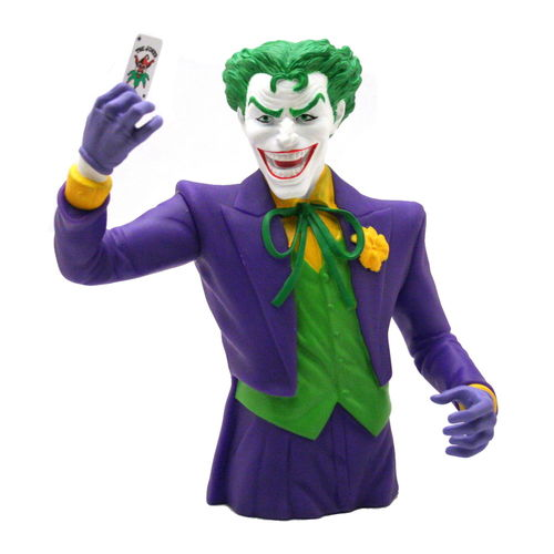 JOKER bust bank money box -  Gotham city Batman