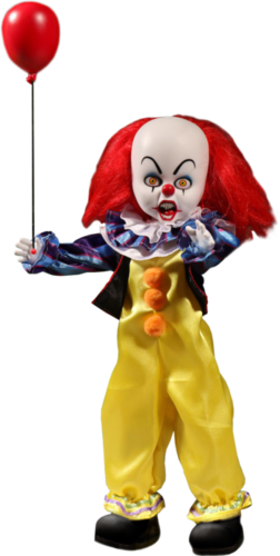 "IT (1990) Pennywise 10"" doll - Living dead dolls"
