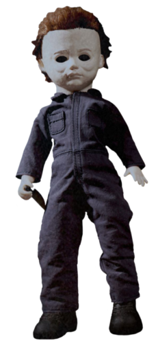 "Michael Myers 10"" figure living dead doll - Halloween"