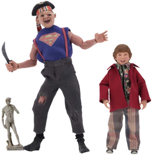 "Goonies - 8"" Figures - Sloth and Chunk 2 Pack"