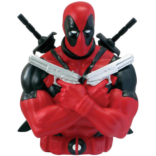 Marvel avengers bust bank DEADPOOL money box bank